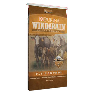 Purina Wind and Rain STORM™ Fly Control Minerals
