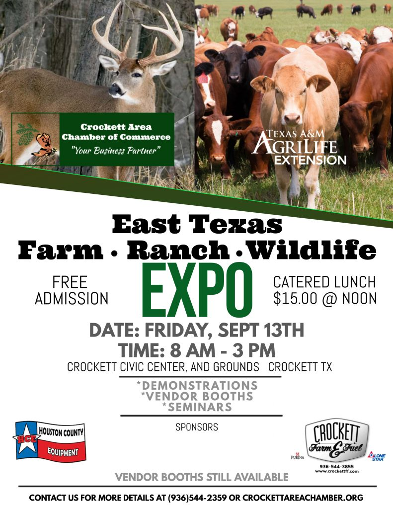 East Texas Farm Ranch Wildlife Expo